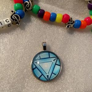REACTOR - Pendant Necklace - Rave Fashion